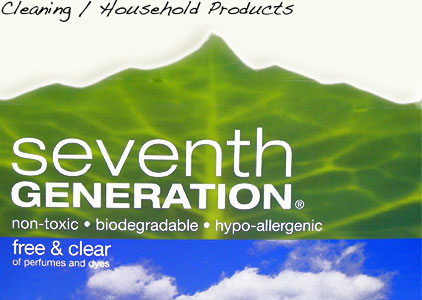 Seventh Generation House Safe Hold Products